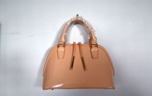 Hot Fashion Designer Shinny PU Handbags with Your Own Brand (A-012)