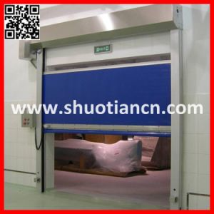 Roll-up Speedy High Speed Automatic Door (ST-001) pictures & photos