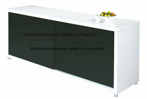 Modern Wooden UV High Gloss Slide Door Buffet (Buff1-1 01) pictures & photos