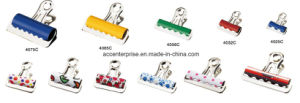 Round Head Metal Bulldog Paper Clip pictures & photos