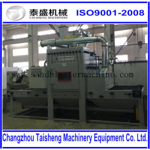 Automatic transmission sand blasting machine/Automatic conveyor sandblast machine