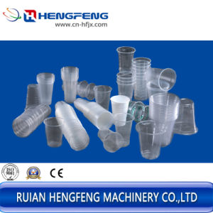 Disposal Cup Thermforoming Machine (HFTF-70T) pictures & photos