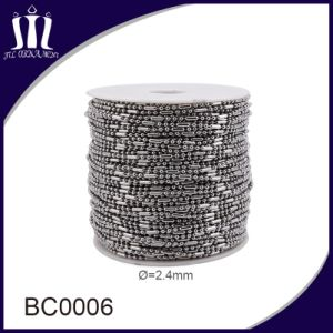 316L Stainless Steel 2.4mm Ball Bead Chain pictures & photos