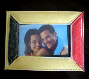 Colorful Leather Photo Frame for Lover pictures & photos