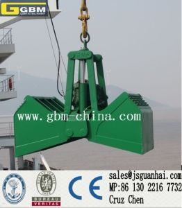 Hydraulic Grab for Bulk Cargo in Harbour and Vessel pictures & photos