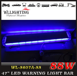 "LED Police Emergency Super Bright Warning Light Bar 88W 47"" pictures & photos"