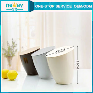 New Design Dask Use Plastic Waste Bin pictures & photos