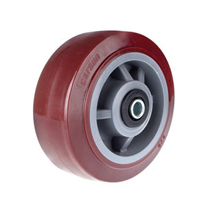 100mm Heavy Duty PU Castor Wheel pictures & photos