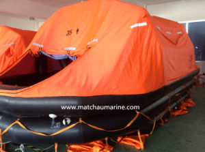 125 Persons Self Righting Lifesaving Equipment Inflatable Liferaft pictures & photos