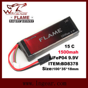 Flame 9.9V 1000mAh 15c LiFePO4 LFP Battery for Peq-15 Box pictures & photos