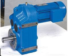 FF Parallel Shaft Helical Geared Motor