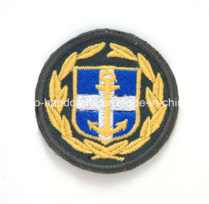 Custom Embroidery Patch Shoulder Badges for Military&Police pictures & photos
