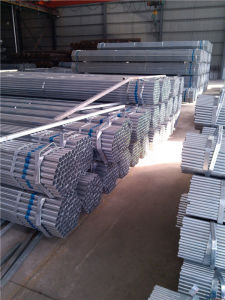 BS1387 Hot Dipped Galvanized Round Steel Pipe/Tube pictures & photos