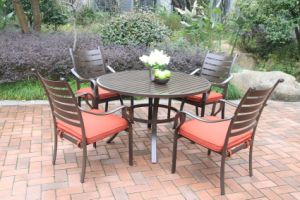 New Outdoor 5PC Dining Set Furniture pictures & photos