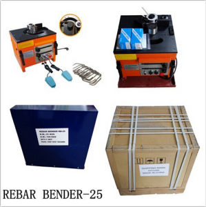 CE Approved Electric Rebar Bender for Rent Be-Rb-25 pictures & photos
