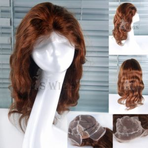 Best Quality Elastic Lace Wig 100% Human Hair Wig pictures & photos