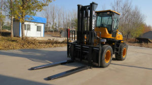 Supply 1.5ton to 10ton Good Performance Rough Terrain Forklift pictures & photos