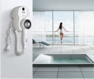 New Style ABS Bathroom Hotel Wall-Mounted Hair Dryer pictures & photos