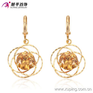 90631- 2016 New Sales Fashion Charming Crystal Gold-Plated Jewelry Earring for Gifts pictures & photos
