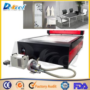 Laser Glass Engraving Machine for Furniture 1825 pictures & photos