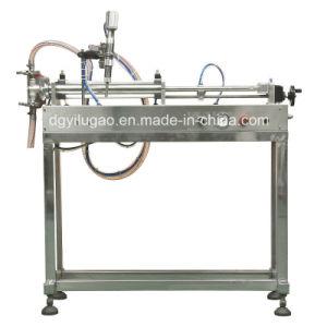 Semi-Automatic Signal-Head Liquid Filling Machine pictures & photos