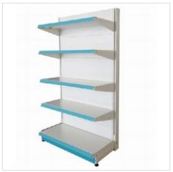 European Style Metal Supermarket Shelf, Steel Gondola Shelving