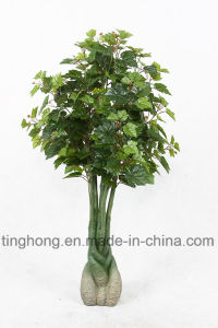 New Design Artificial Plants with 118 Grape Leaves