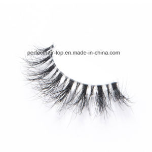 Hot Sell Natural Mink Hair Eyelashes 3D Mink Lashes pictures & photos