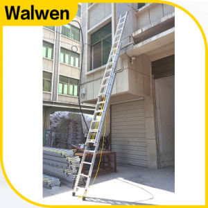 3 Section Multi-Purpose Aluminum Telescopic Rope Ladder pictures & photos