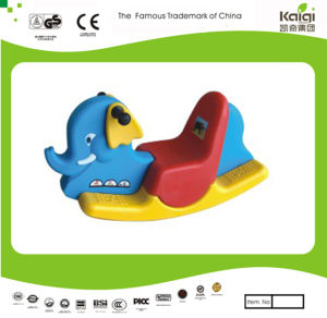 Kaiqi Children′s Plastic Animal Rider Toy for Playground - Elephant (KQ50136B) pictures & photos