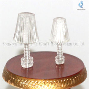 1: 20 1: 25 Transparent Circle Model Table Lamp