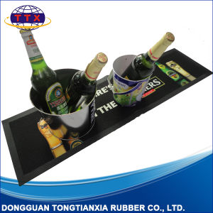 Custom Printed Eco-Friendly Rubber Bar Beer Mat pictures & photos