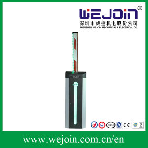 Automatic Road Barrier Gate with LED Light and Rubber Boom pictures & photos