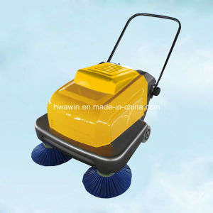 Walk Behind Small Electric Hand Push Street Sweeper pictures & photos