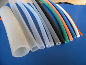 Customized Extrusion Silicone Rubber Hose pictures & photos