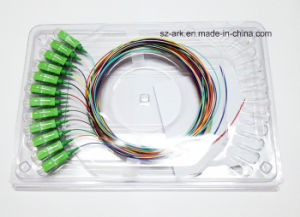 12 Colored 0.9mm with Sc/Apcfiber Opical Cable pictures & photos