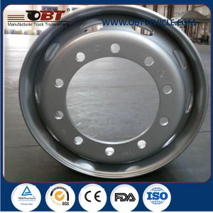 22.5*8.25 Inch Steel Wheel Black /Blue Colors Rims for Heavy Duty Truck pictures & photos