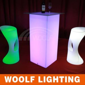 LED Plastic Commercial Nightclub Bar Chairs pictures & photos