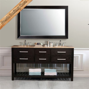 Fed-1118 Wholesale Solid Wood Modern Hotel Bathroom Vanities pictures & photos