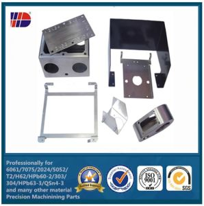 Metal Punching Steel Fabrication for Furniture Parts (WKC-209) pictures & photos