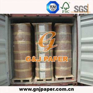 48-65GSM Wood Pulp Jumbo Rolling Thermal Paper for Typing pictures & photos