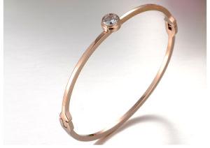 316L Stainless Steel Bracelet Fashion Jewelry Diamond Bracelet (hdx1065) pictures & photos
