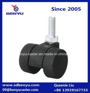 Square Top Plate Nylon Wheel Caster pictures & photos
