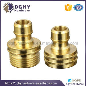 Customized CNC Lathe Turning Machining Parts Screw Nuts Thread Parts pictures & photos
