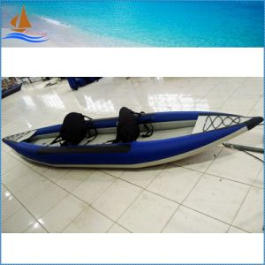 Eye-Catching Blue Kayak, Competitive Price Perfect PVC Watercraft, 2 Person Versatile Kayak with CE China pictures & photos