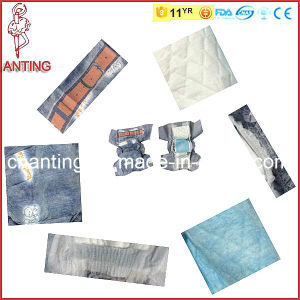 Disposable Baby Diaper with Cloth-Like Backsheet, Soft Cotton Care Baby Diaper pictures & photos