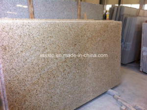 Shandong Rusty G682 Yellow Misty Granite Stone Slabs & Countertops pictures & photos