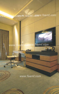 2017 Chinese Modern Hotel Wooden Bedroom Furniture Set (EMT-B1203) pictures & photos