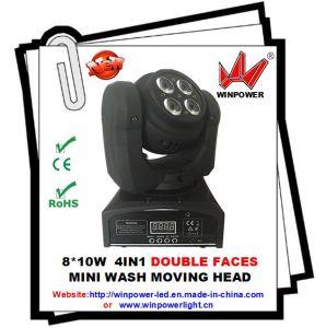 8 PCS Double Faces Mini Moving Head Light