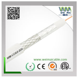 18AWG CCS 45% Braiding RG6 Coaxial Cable pictures & photos